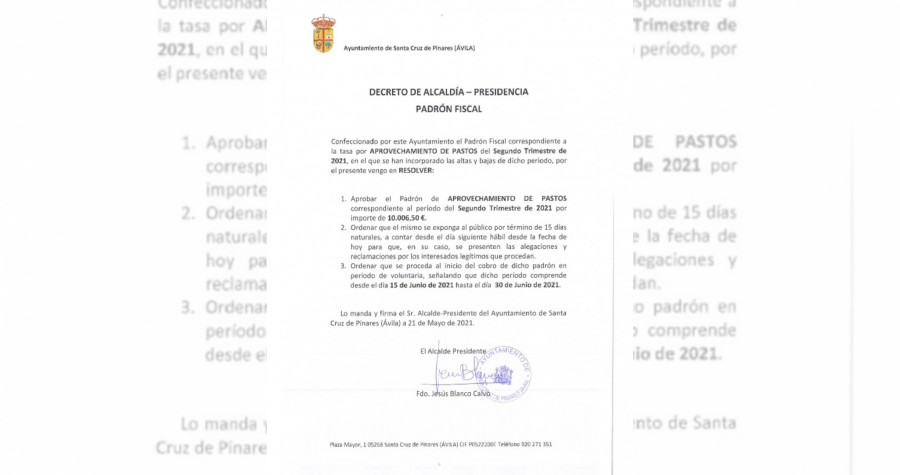 Decreto de Alcaldía