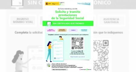 Cartel Seguridad Social