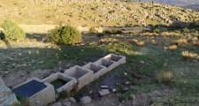 Fuente La Mata Enmedio, antes.
